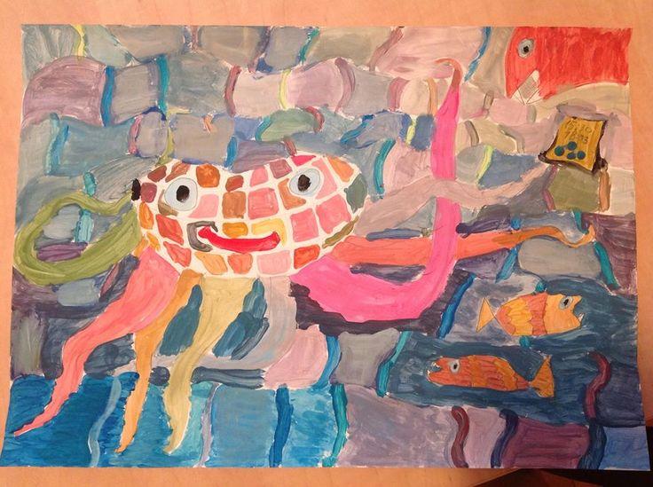 Picturi copii - cursuri Fundatia Thotart Bucuresti