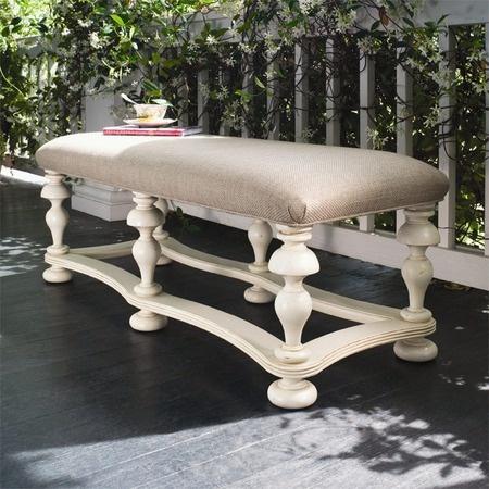 Paula Deen Furniture   Savannah Bench In Linen