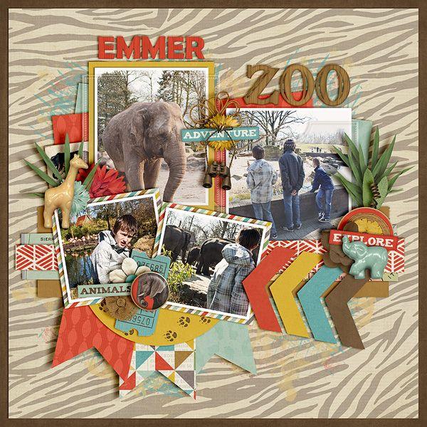 Emmer zoo - Scrapbook.com