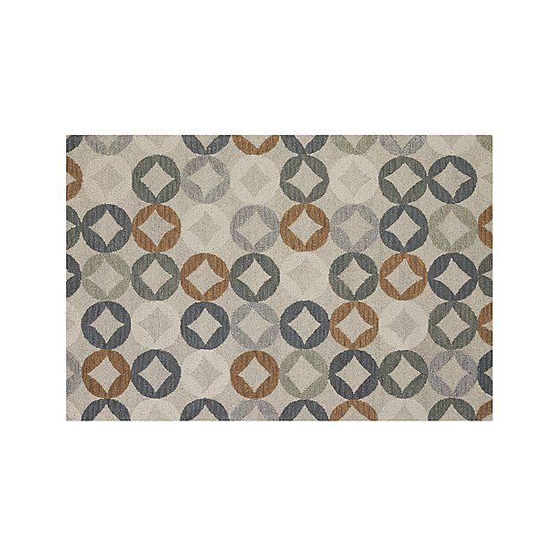 Destry Wool 6'x9' Rug | Crate and Barrel