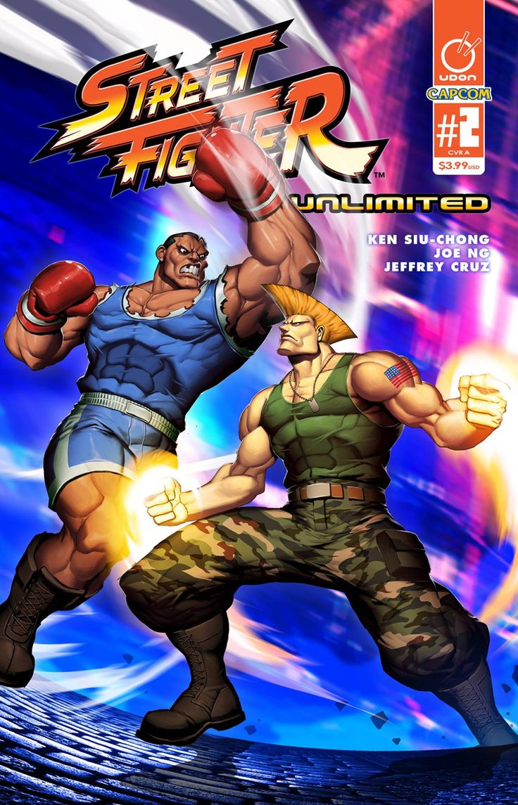 Street Fighter Unlimited (2015) Issue #2 Cover A