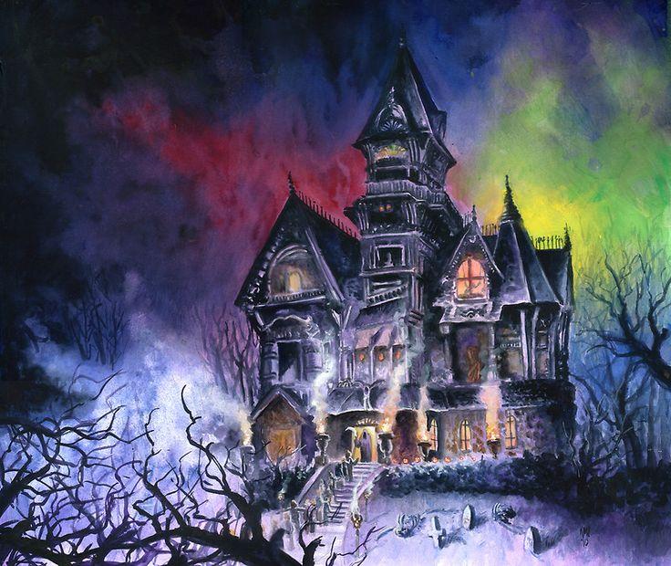 Haunted House by kenmeyerjr: pinterest.com/pin/152840981077458305