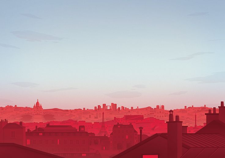 Thomas Danthony - Paris cityscape for Grand Marnier