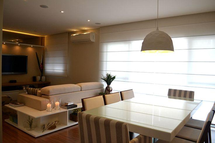 A arte de decorar: Abajur e Lustres para sala de jantar e estar.