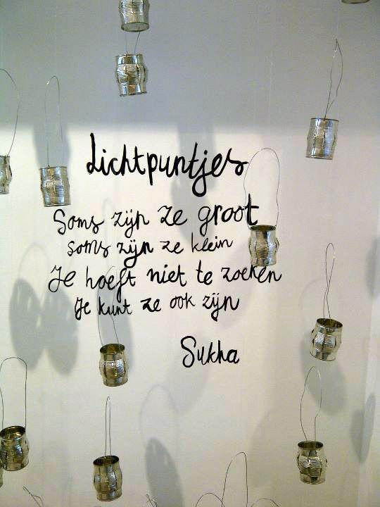 Lichtpuntjes #quote #sukha
