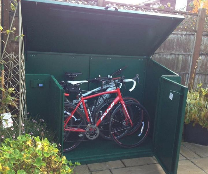 "Great review from our customer Peter.  ""Had to clear my garage to park the car in due to parking getting so difficult lately near the house.  Needed a secure storage to keep the insurance for my bike happy. This storage is great I have easily fitted in four bikes..  Easy to open Easy to fit bikes in. Waterproof. Delivered as agreed. Delivery drivers very polite and helpful  Cannot fault"" - http://ift.tt/1HQJd81"