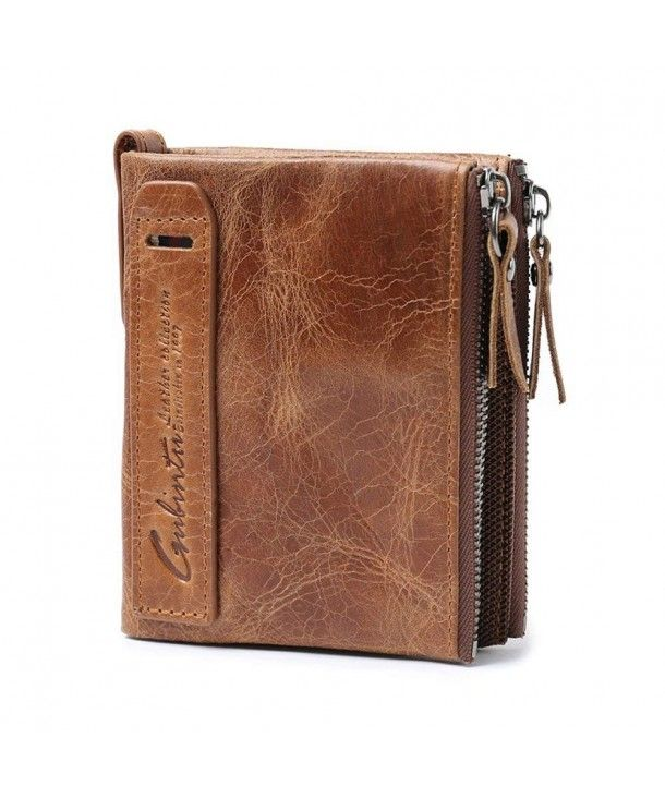 593ce724a65f Men's Bags, Wallets,Men's ID Wallet Genuine Leather Billfold Large Capacity  with Zippers - Brown - CM12O7FY5VE #Men #bags #handbags #style #shopping #  ...