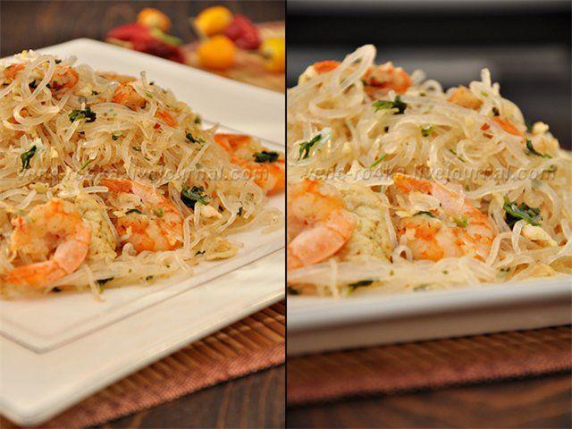 Моя вкусная жизнь в картинках - Пад тай / Pad Thai (рисовая лапша с креветками по-тайски)