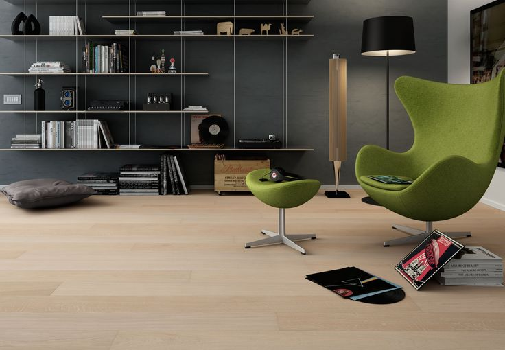 #parquet Rovere Muse, Dream 160 collection. #floor #wood #oak #flooring #living #room