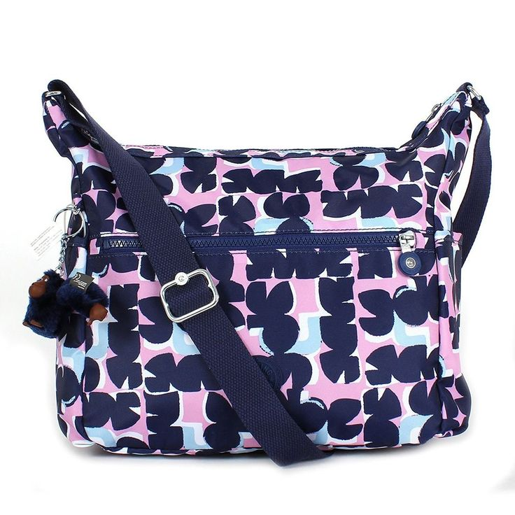 KIPLING ALENYA Printed Shoulder CrossBody Hobo Bag Keep It Honest NWT MSRP  $109