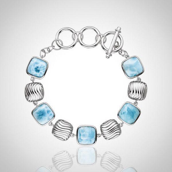 LAURA BONETTI ´Olas´ - Larimar Bracelet available at Larimar.com