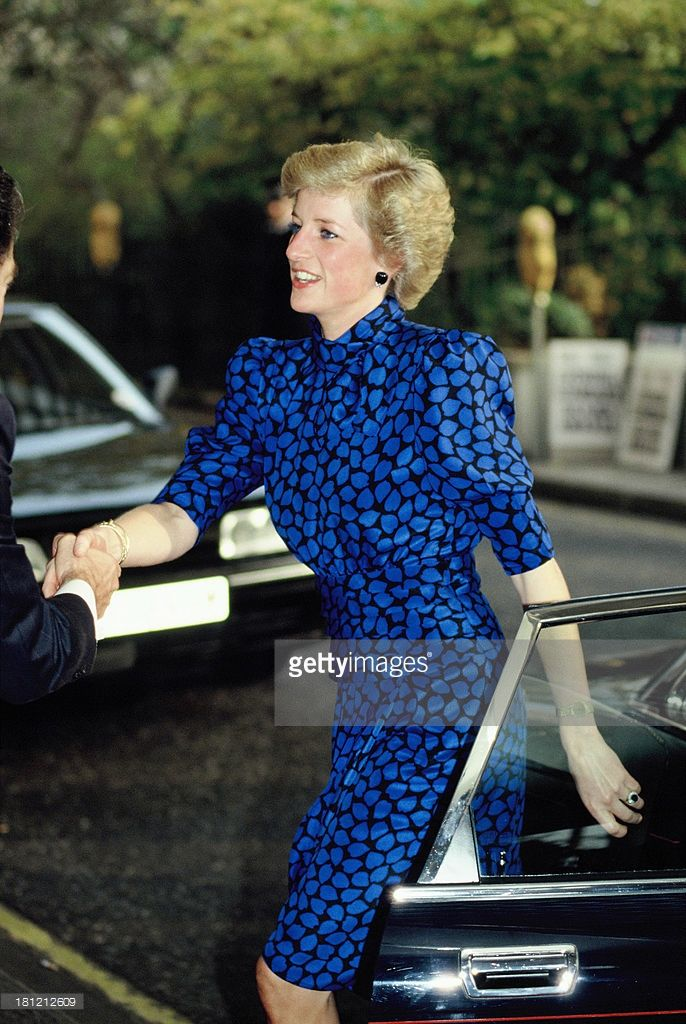 Diana, Princess of Wales, in 1988 ca.