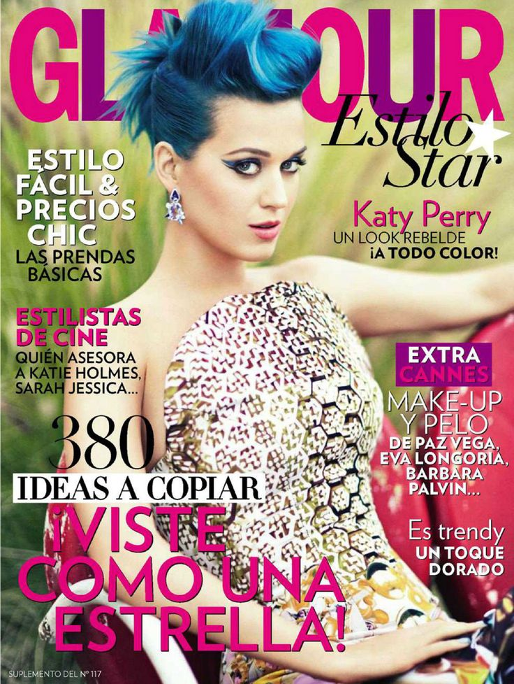 Katy Perry - (Spain) Glamour - July 2012
