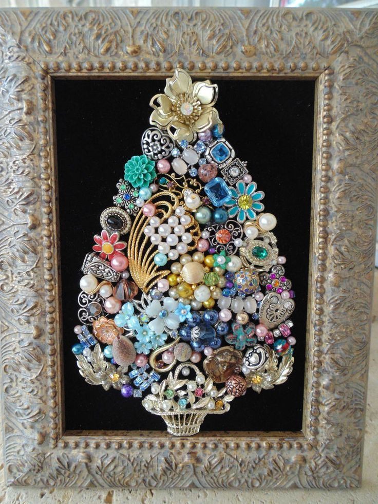 17 Best Ideas About Jewelry Frames On Pinterest Old