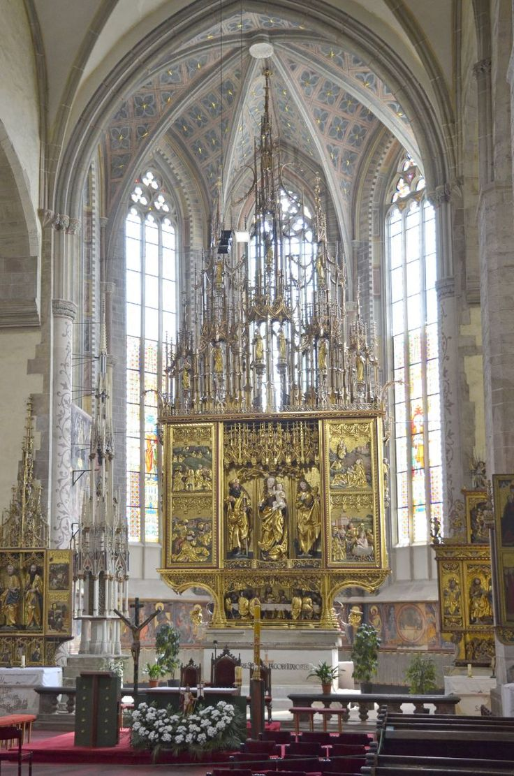 Restored altar by Master Pavol from Levoca - one of the finest gothic gems in Slovakia