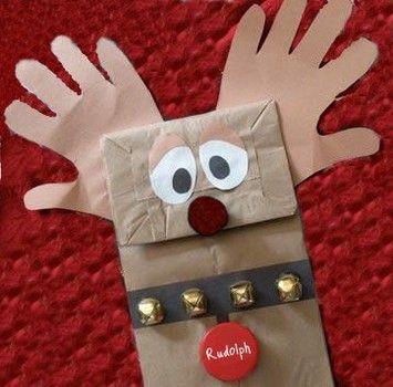 Rudolph Christmas Craft
