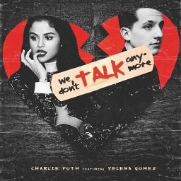 Charlie Puth, ft. Selena Gomez - We Don't Talk Anymore recorded by ItzJustinBieber and lSUSANlLOREDANA on Sing! Karaoke. Sing your favorite songs with lyrics and duet with celebrities.