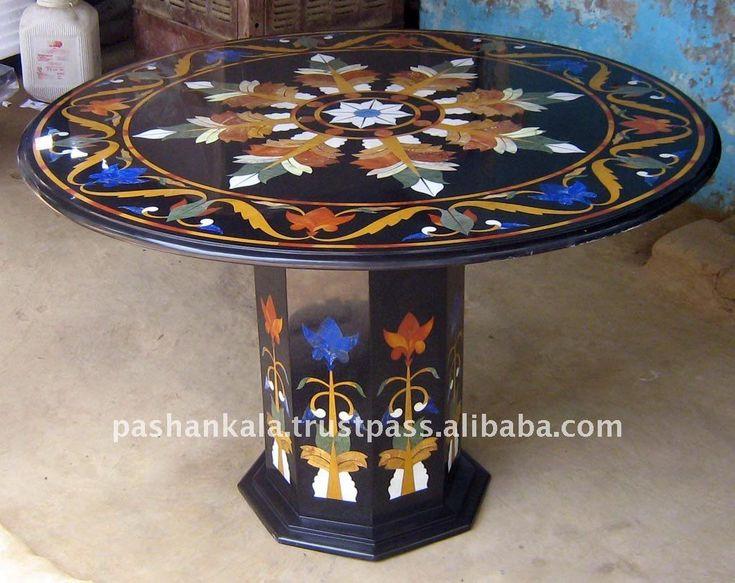 intarsio | intarsio in marmo tavolo-Tavolo da pranzo-Id prodotto:123115535 ...
