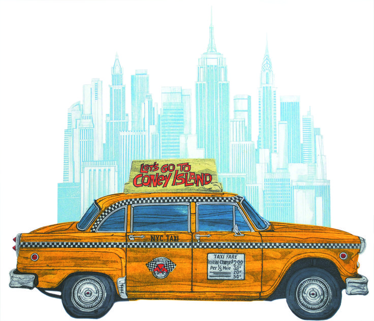 Barry Goodman | NYC | #art | #print | #newyork | £595