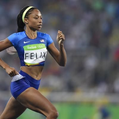 Sports: Allyson Felix Cements Place in Olympic Track History With Silver