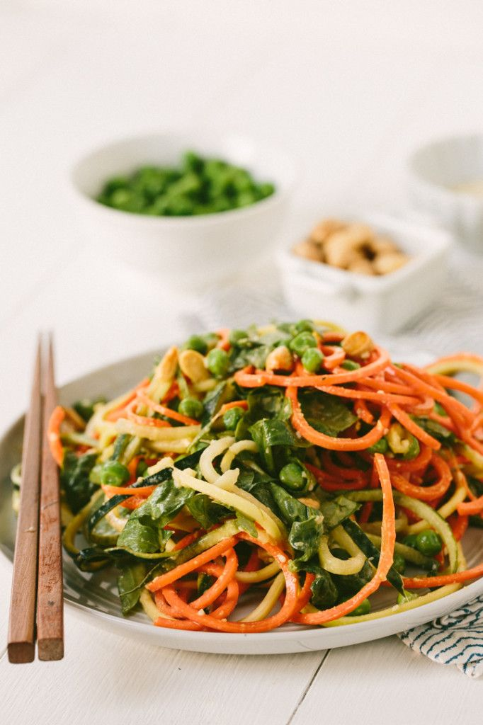 Chilled Sesame Noodles, Hold the Noodles (Yep, Those Are Vegetables)