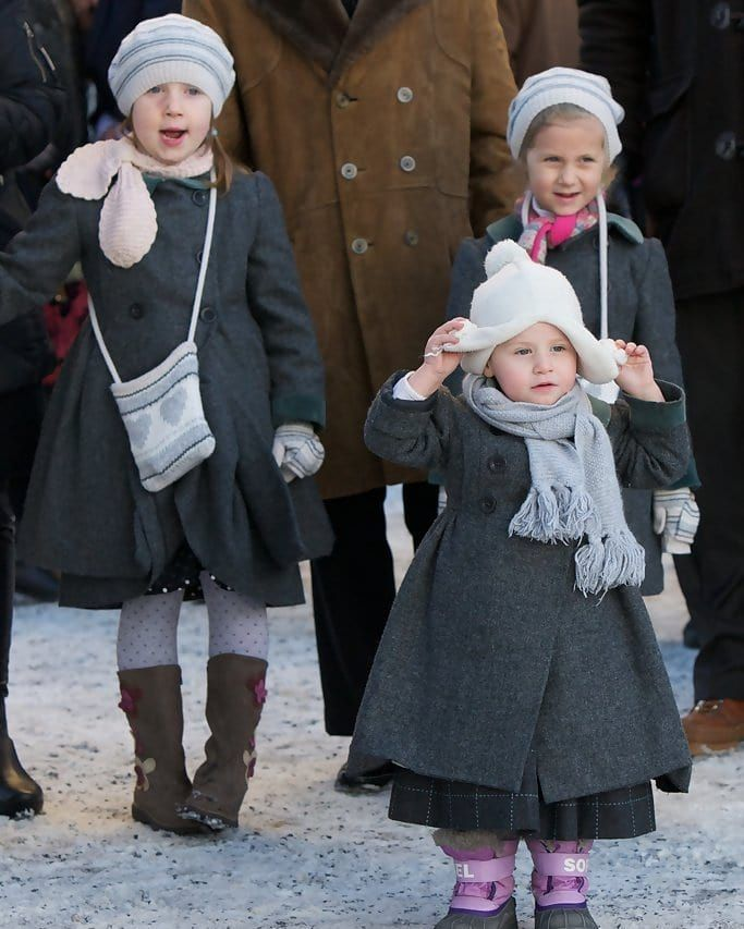 Norwegian Royal Family On Instagram Princess Martha Louise S Daughters Maud Angelica Leah Isadora And Emma Tallulah Atte In 2020 Norwegian Royalty Maud Royal Family