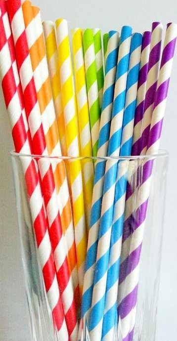 Rainbow | Arc-en-ciel | Arcobaleno | レインボー | Regenbogen | Радуга | Colours | Texture | Style | Form |  Straws