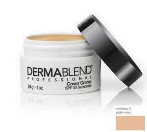 Dermablend - covers acne amazingly and also covers tattoos or birthmarks - AMAZING industrial strength product for acne or acne scars
