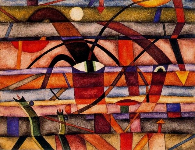Un drola - Xul Solar (Oscar Agustin Alejandro Schulz Solari) - argentino (1887-1963)
