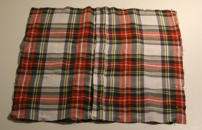 Pillow case from button up shirt---will be doing this for Aloha Shirts!!!