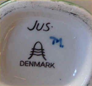 Danish Plates Display