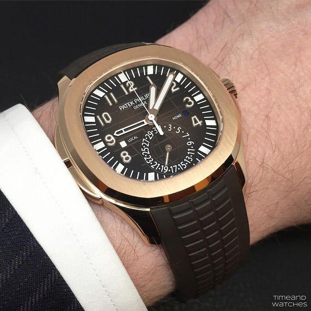 Patek Philippe Aquanaut Travel Time Ref 5164r 001 World Class