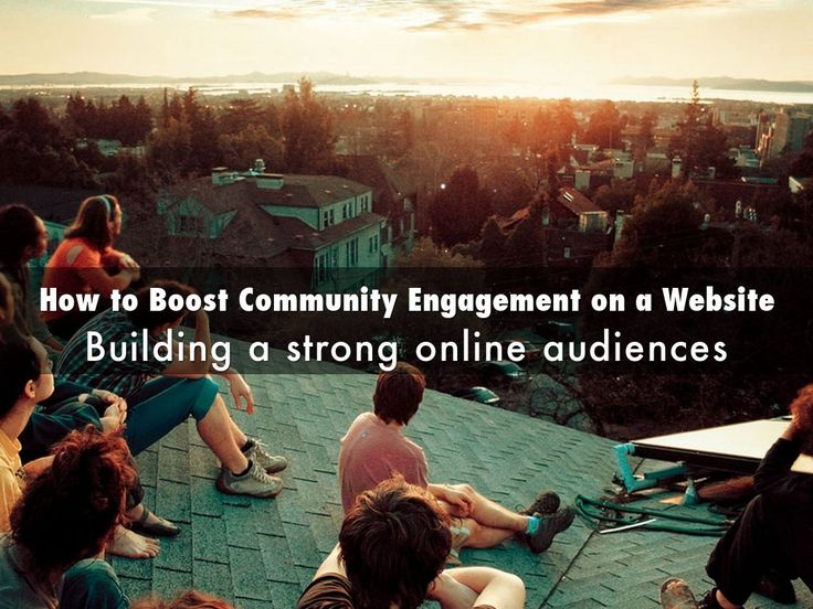 How to Boost Community Engagement on a Website - Building a strong online community is no easy task for any website admin, social media expert or business owner. These days, your virtual presence should be a lot more about engaging your existing and potential clients, than simply recording page views or clicks. This means both, giving site visitors tools to interact and getting involved in the discussion yourself.