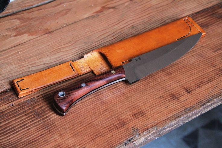 52100 Custom Knife
