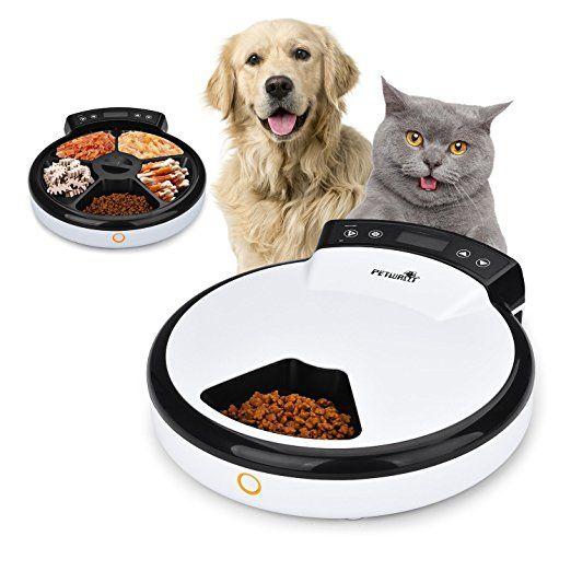TOPHGDIY Premium Automatisierte Futterspender , Haustier