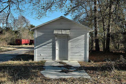 osierfield ga photos   Osierfield GA Irwin County Voting Precinct House Peanut Wagons ...