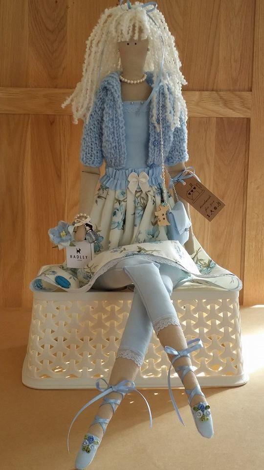 Lorraine's Tilda Dolls -- facebook.com ♡