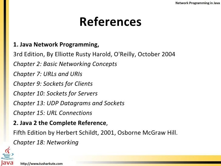 O reilly network socket programing