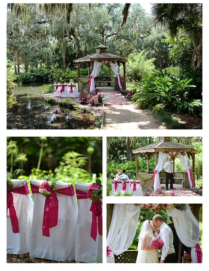 gazebo decoration for garden weddings