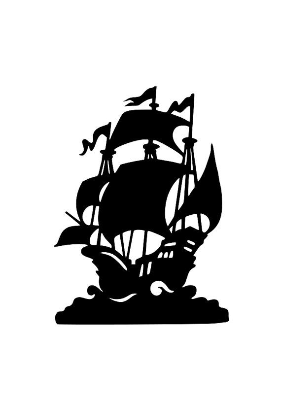 Pirate Ship Amp Hat Svg Cutting File For Cricut And