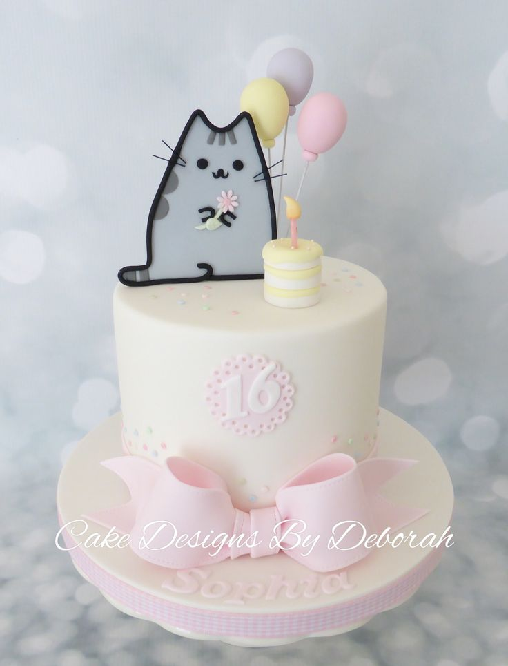 Pusheen Birthday Celebration Made by :  Cake Designs By Deborah