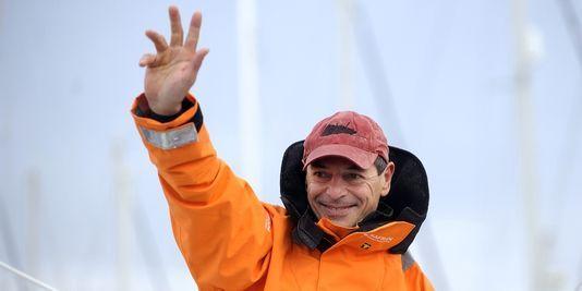 Voile : Marc Guillemot bat le record de la traversée de l'Atlantique nord