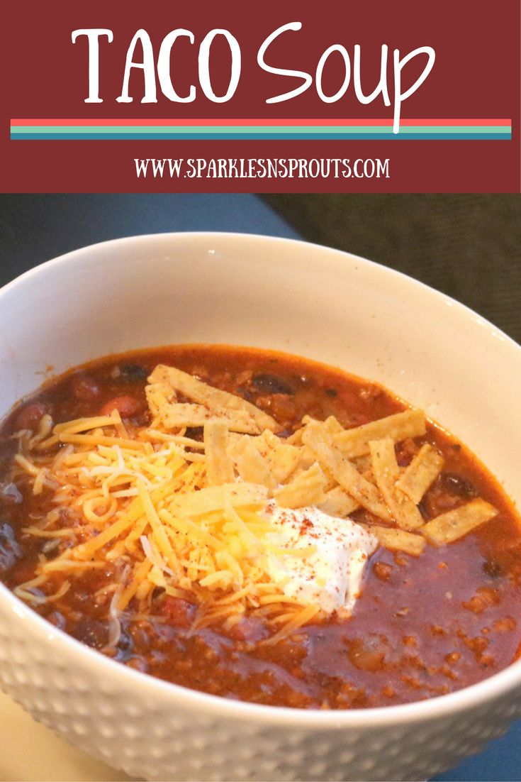 This Taco Soup is perfect for your next Taco Tuesday or for your next get together, trust me this will become a family favorite!!