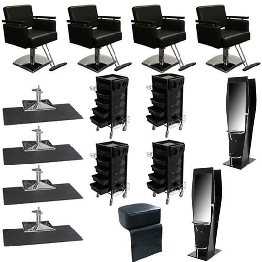 Salon or Barber Business Starter with Booster Seat.
