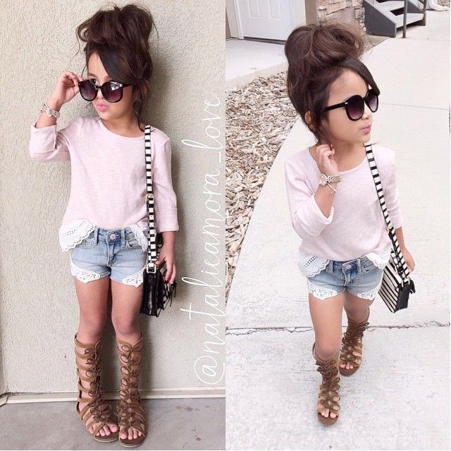 Toddler girl fashion☻
