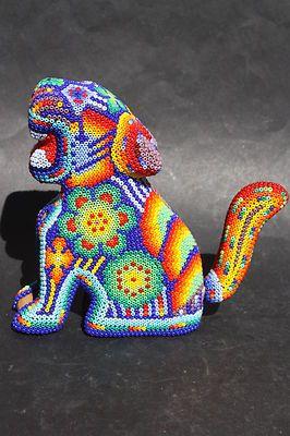 huichol jaguar - gorgeous mexican artwork