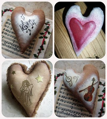 Сказки у камина...: Три тонировки на кофейной основе + варианты декора...