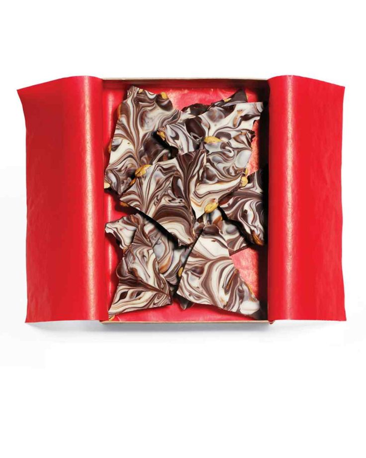 Martha Stewart's Winter Bark: just melt, swirl, and stir.