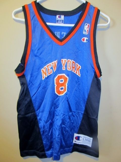 382607e6b Vintage Latrell Sprewell - New York Knicks jersey - Champion Youth large   Champion  NewYorkKnicks