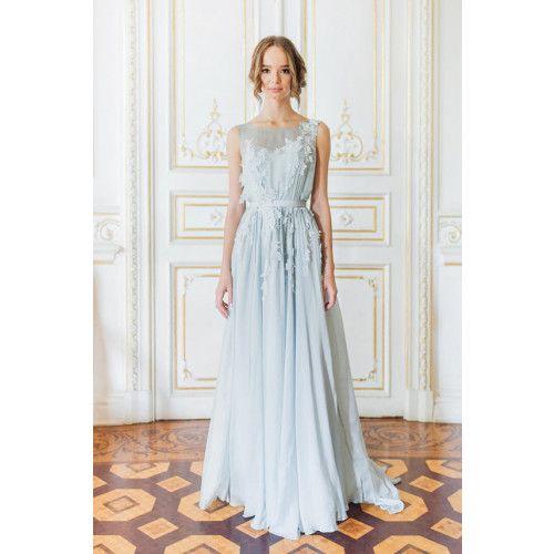 shopandmarry.de: Hellblaues Hochzeitskleid
